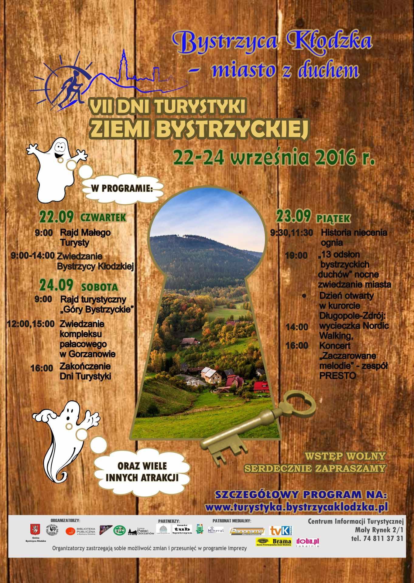 VII Dni Turystyki Ziemi Bystrzyckiej