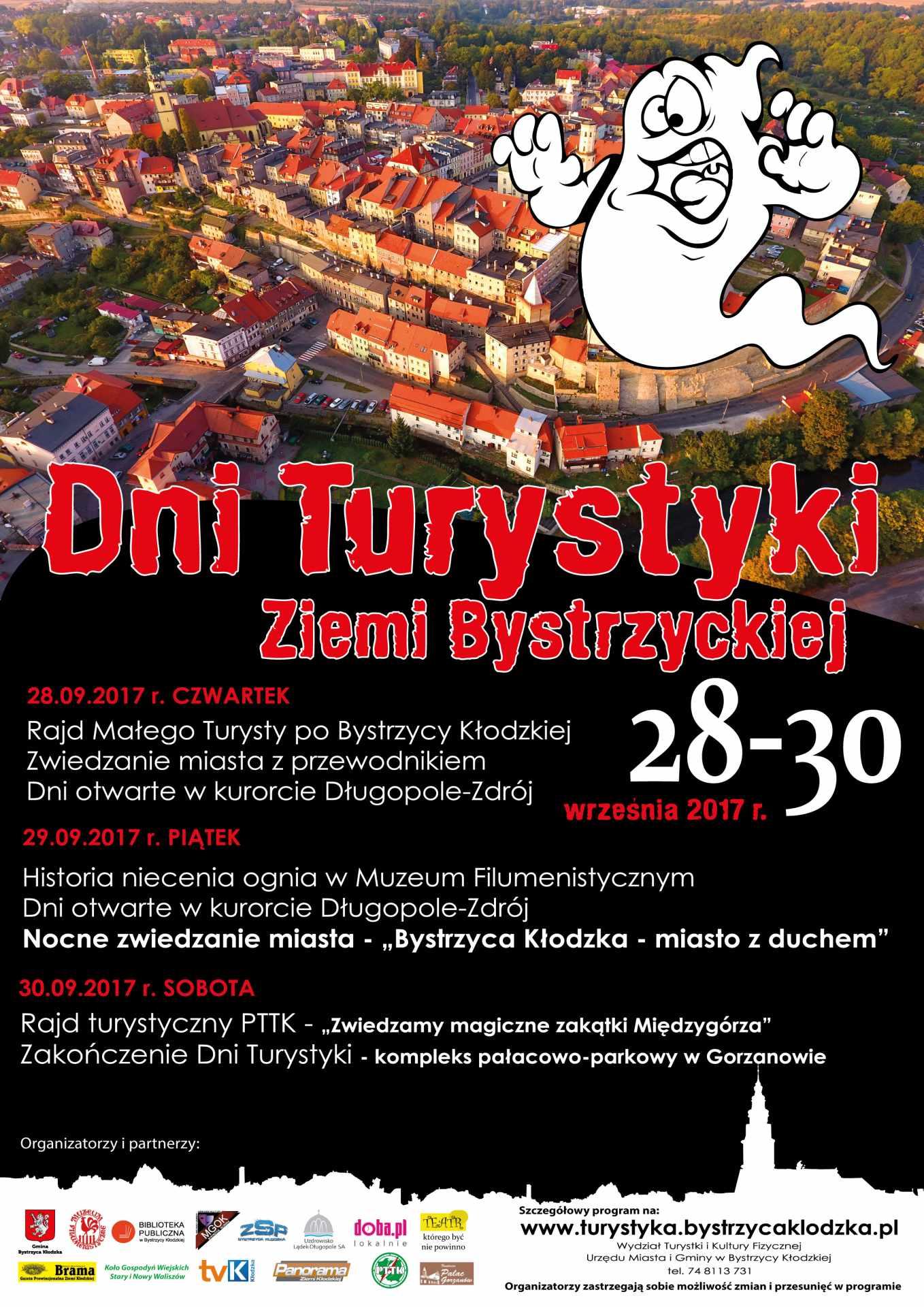 Zapraszamy na Dni Turystyki Ziemi Bystrzyckiej!